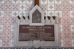 Dzień Męczeństwa Duchowieństwa Polskiego w czasie II wojny światowej.